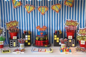 Оформление детского дня рождения в стиле «Супергерои»