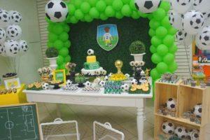 Оформление детского дня рождения в стиле «Футбол»