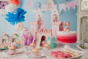 Оформление детского дня рождения в стиле принцессы