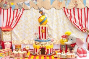 Оформление детского дня рождения в стиле «Цирк»