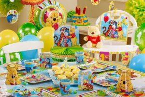 Оформление детского праздника в стиле «Винни Пух»