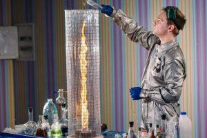 Химическое шоу «Чокнутый профессор»