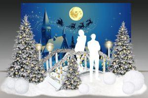 Новогодняя фотозона «Снежная долина»