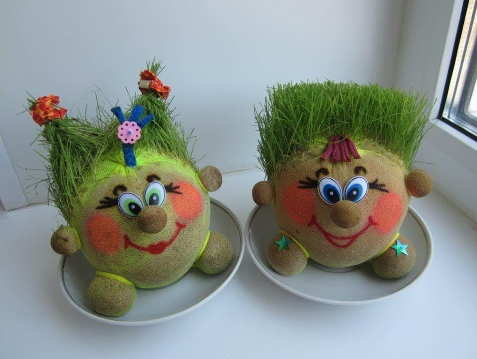 Эко-игрушка в качестве подарка для девочки на 8 марта