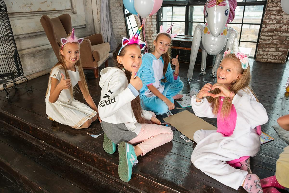 Пижамная вечеринка на дне рождения подростка 14 лет