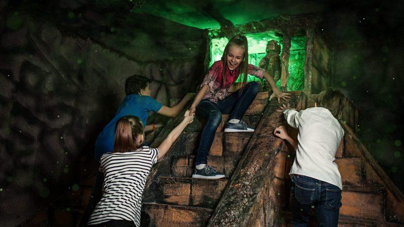 Квест в пещере на день рождения