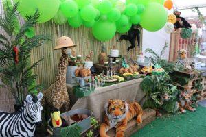 Детский День рождения в стиле Зоопарк