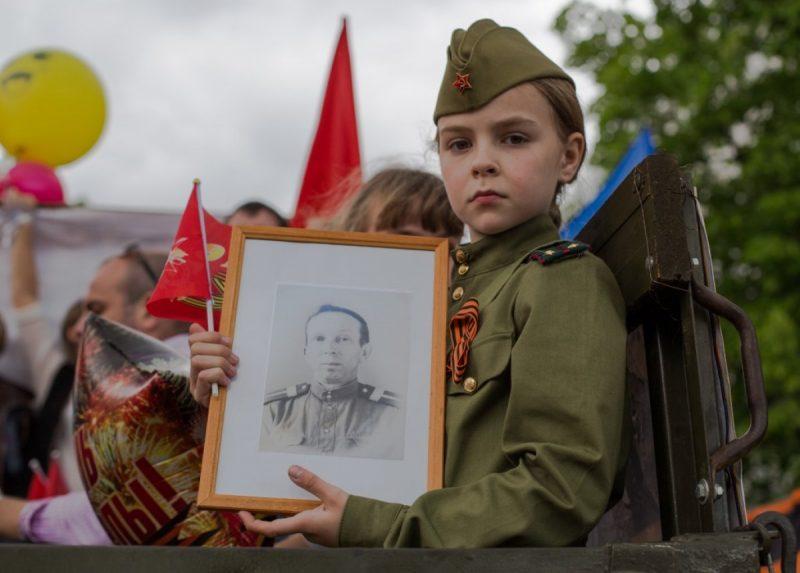 бессмертный полк участие детей ко Дню победы