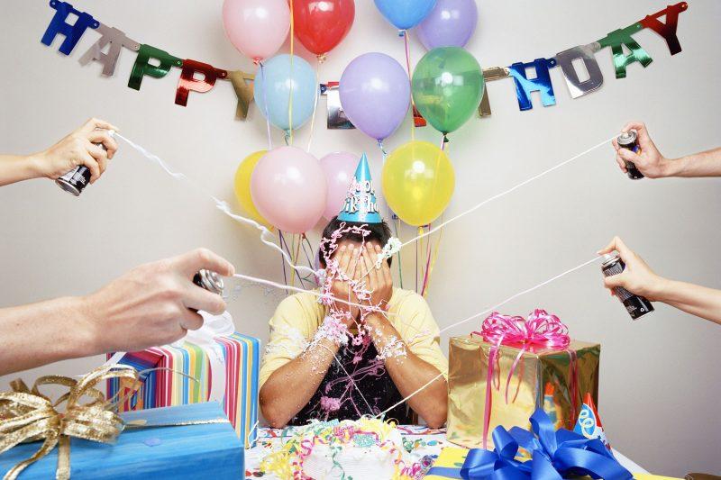 День рождения подростка в 13, 14, 15 лет