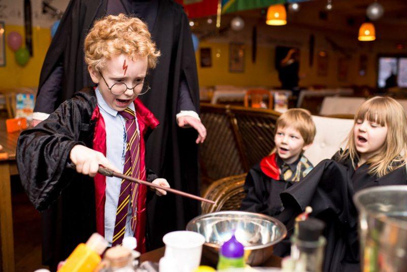 день рождения в стиле школа волшебства для детей