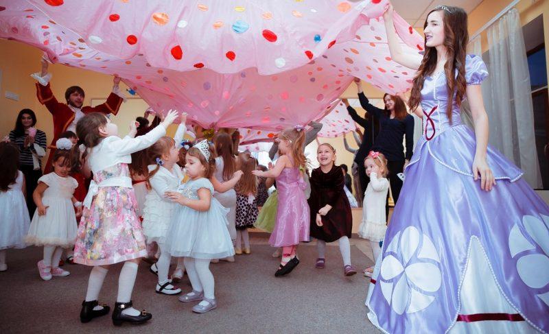 конкурс на детский день рождения принцессы