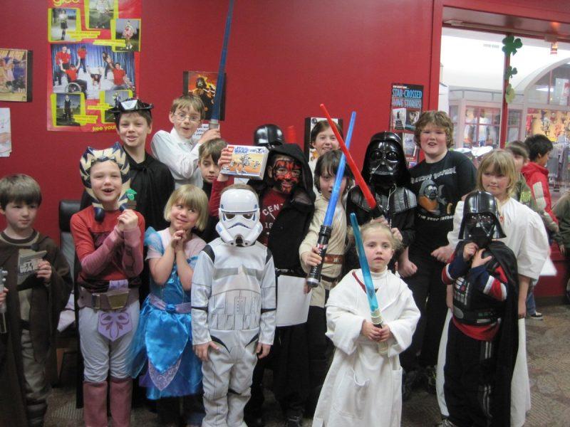 групповые квесты на день рождения в стиле Звёздных войн