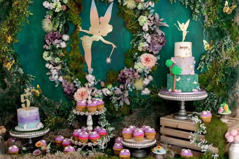 день рождения для детей в стиле феи