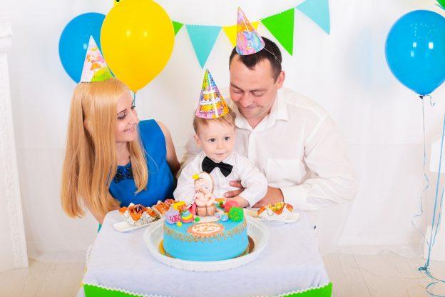 День Рождения ребёнка в 2 года