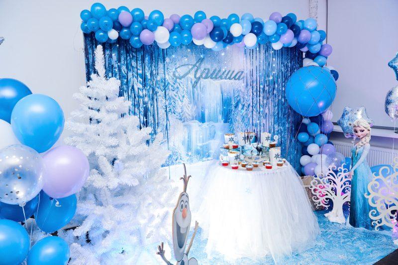 праздник в стиле Зимней сказки для детей