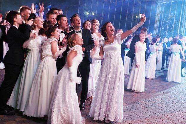 выпускной бал в Москве
