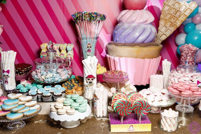 сладкий стол на праздничный вечер в честь дня рождения