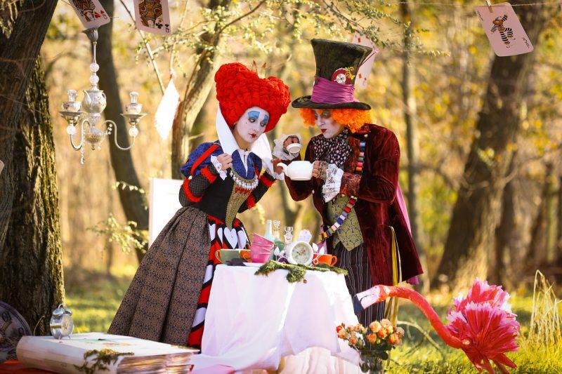 детский праздник в стиле алиса в стране в стране чудес