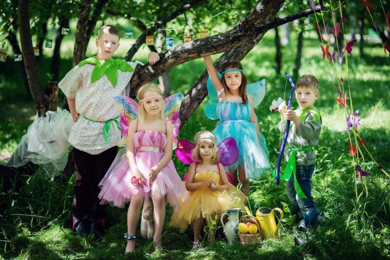 детский праздник в стиле феи