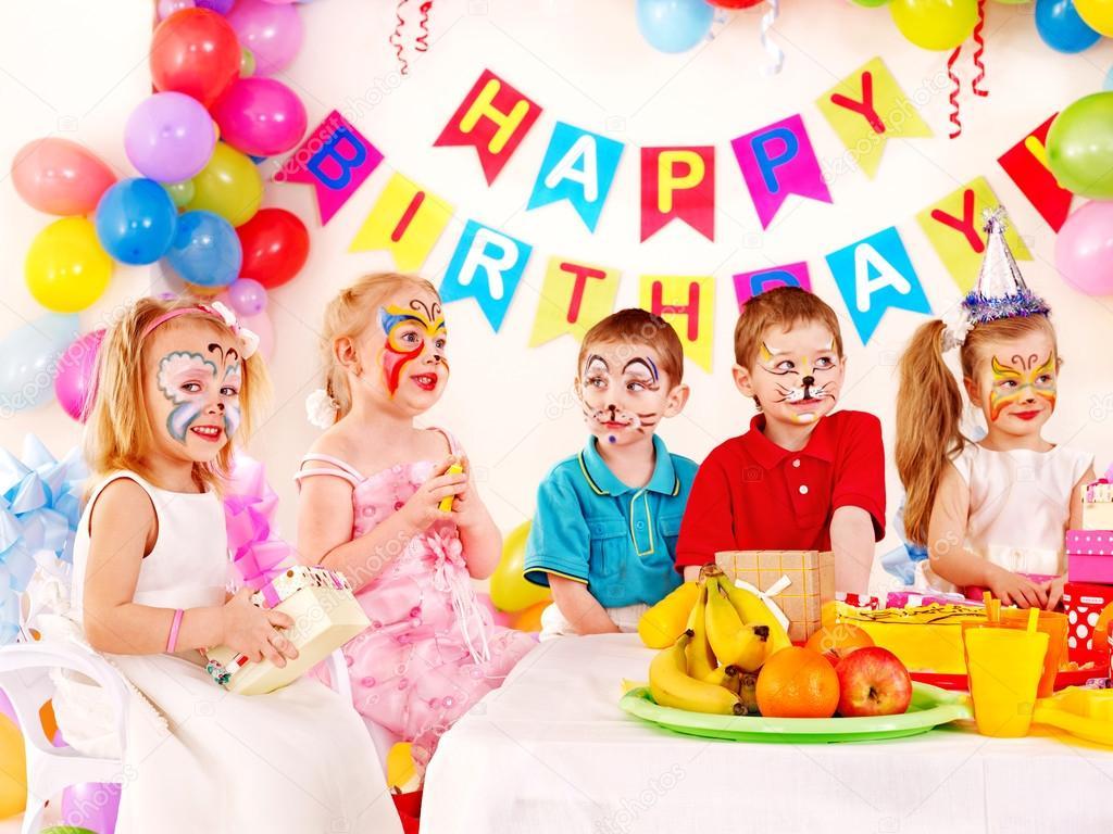 День Рождения детей в 3 года