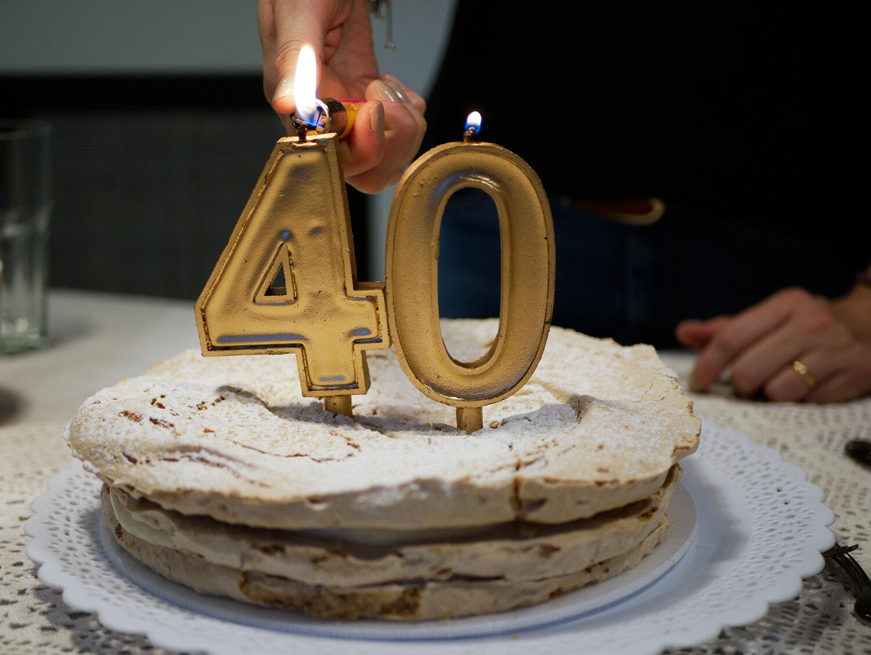 Почему не отмечают 40 лет