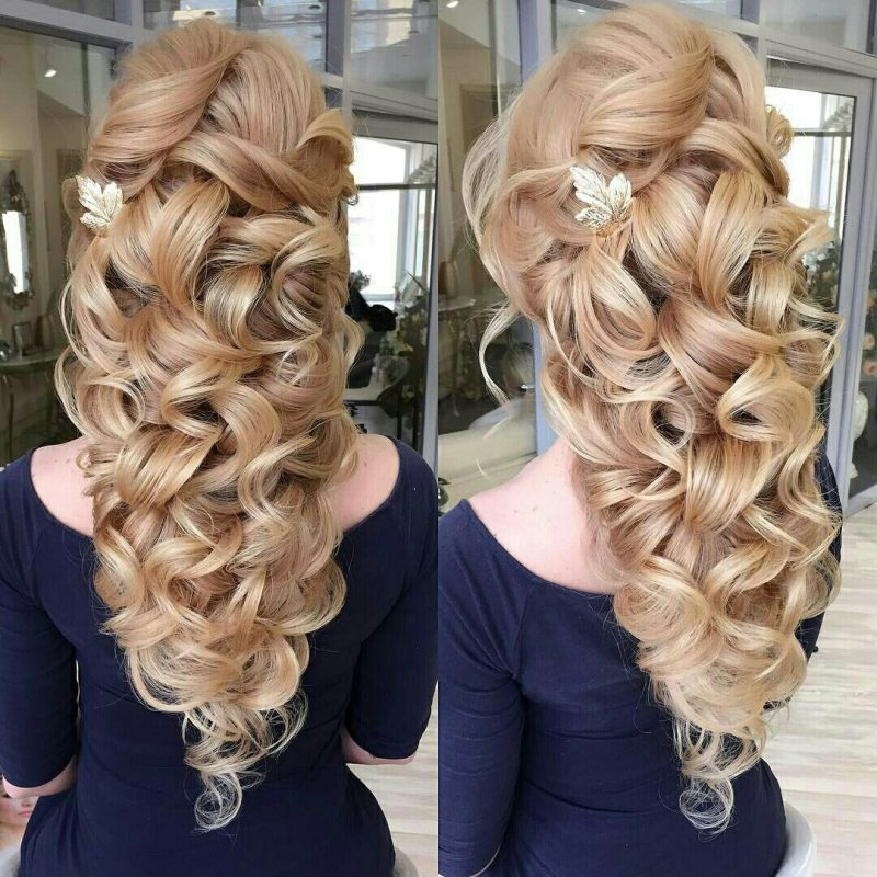 причёски на длинные волосы на выпускной