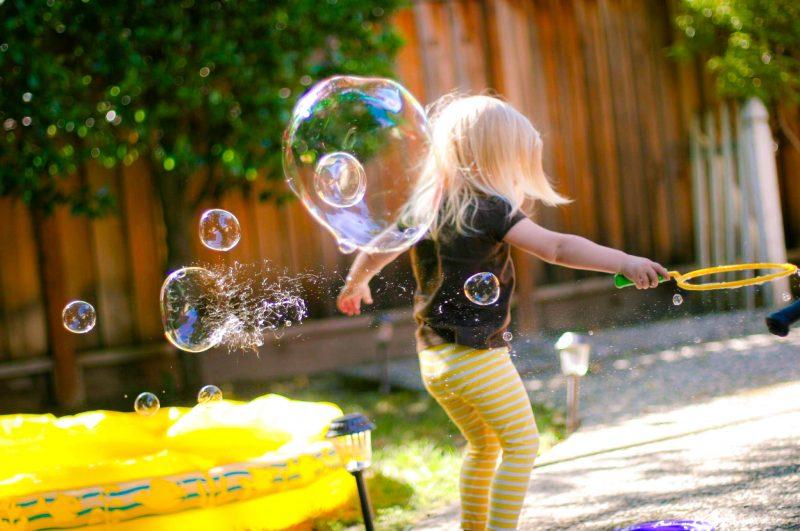 классные мыльные пузыри дома с глицерином
