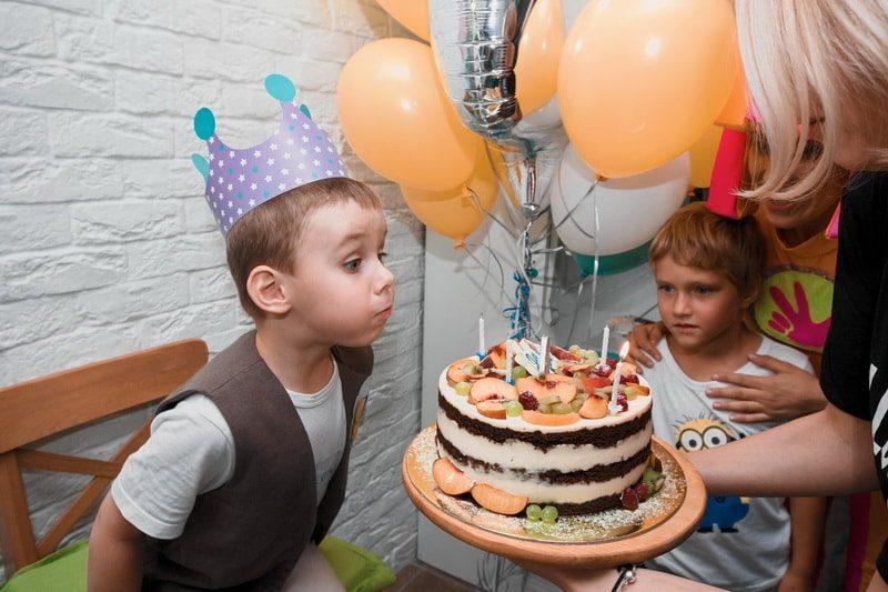 домашний день рождения ребёнка в 7 лет