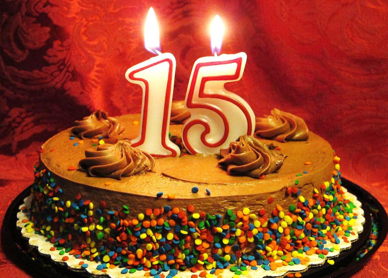 день рождения подростка 15 лет