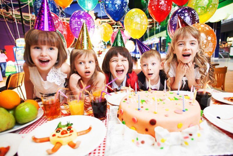 день рождения в детском центре в 5 лет