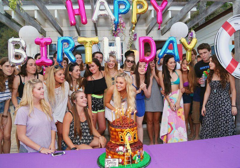 вечеринка в честь 12-летия подростка