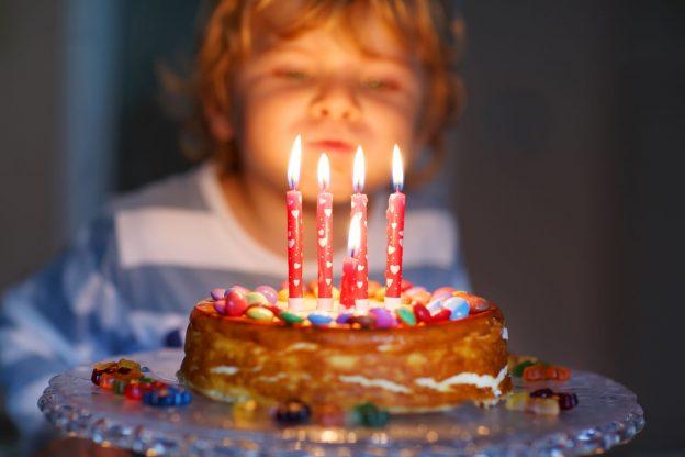 день рождения мальчика в 5 лет