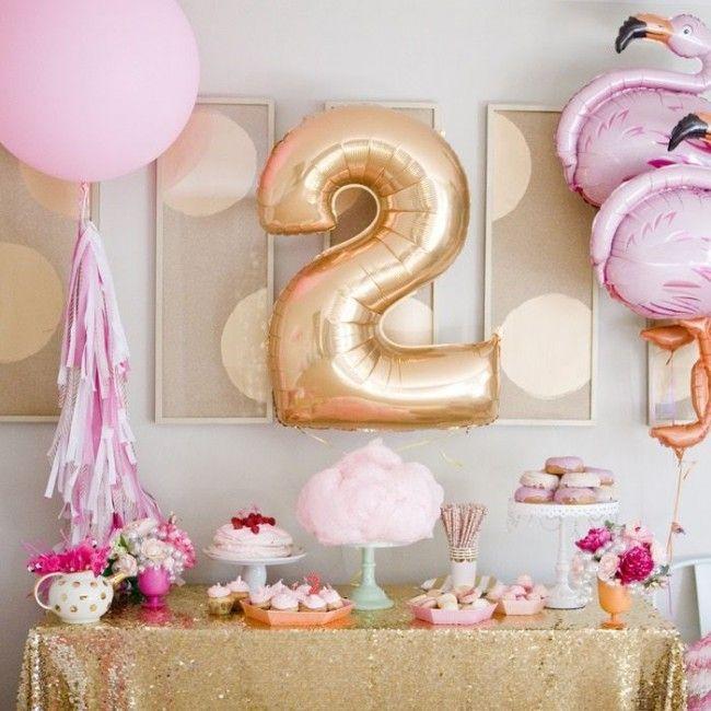 День рождения девочки 2 года