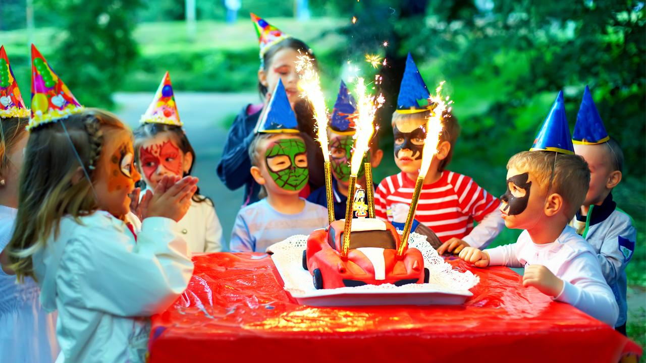день рождения мальчика 7 лет