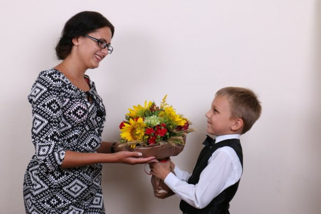 подарок воспитателю от дошкольников