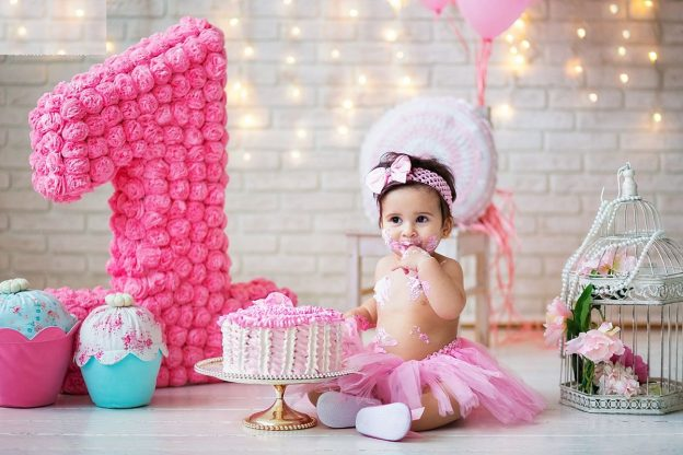день рождения девочки в 1 год