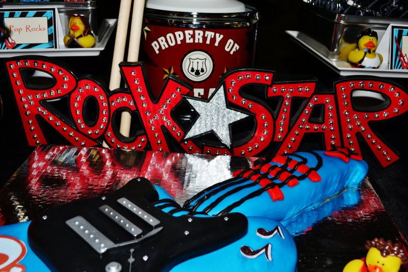 вечеринка в стиле рок