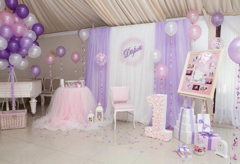 оригинальное место празднования дня рождения девочки в 1 год
