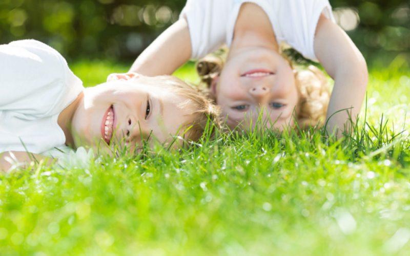 дети на природе готовы к викторине