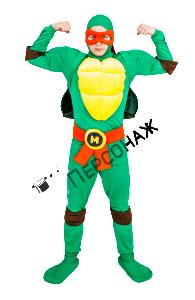 Аниматоры в костюмах черепашек-ниндзя