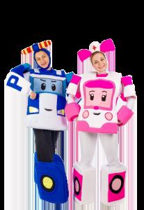 Робокары Поли и Эмбер